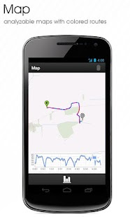 GPS Outdoor Tracker/Log - screenshot thumbnail