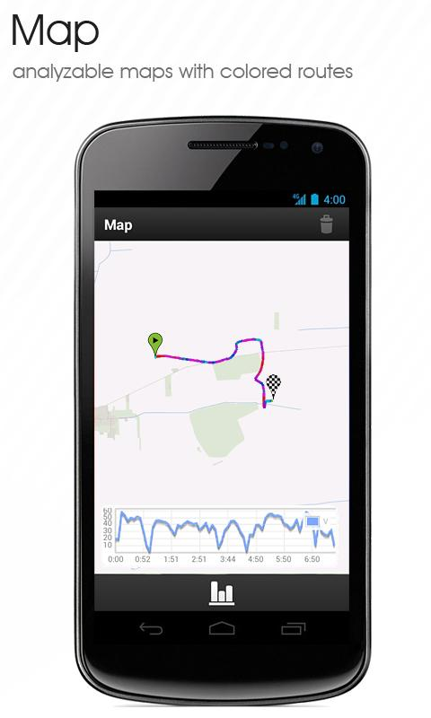 GPS Outdoor Tracker/Log - screenshot