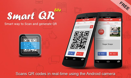 QR Code Scanner and writer