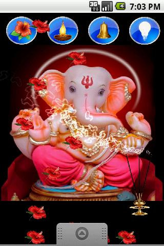 Ganpati Ganesh Live Wallpaper - screenshot