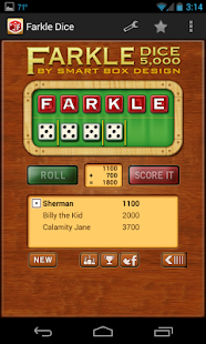 Farkle Dice DLX (Ad-Free) - screenshot thumbnail