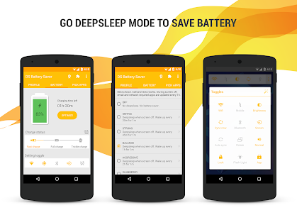 Deep Sleep Battery Saver – Miniaturansicht des Screenshots