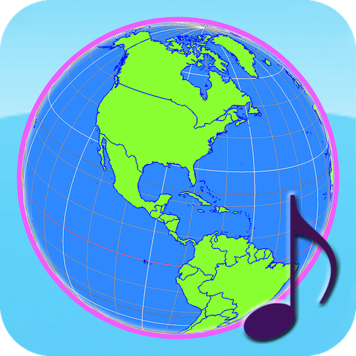 Globe Earth 3D Pro: Flags, Anthems and Timezones