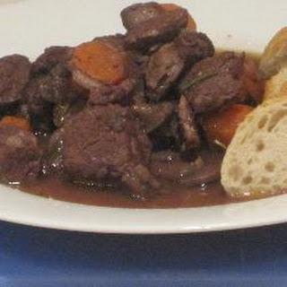 Red Wine Beef Stew.