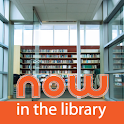 Now in the Library logo