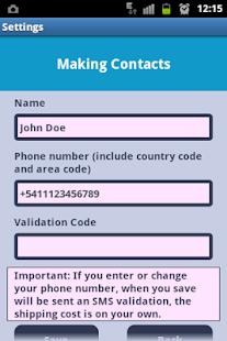 Making Contacts - screenshot thumbnail