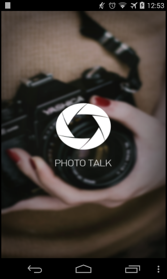 Photo Talk- screenshot