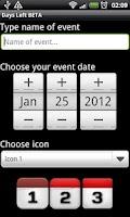 Screenshot of Days Left Simple Widget
