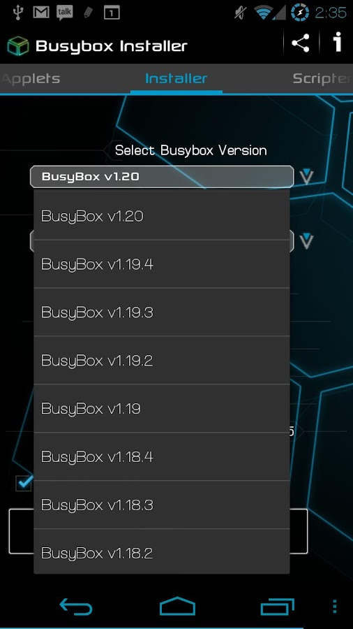 Busybox Installer Pro - screenshot