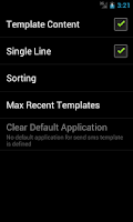 Screenshot of Sms Templates Free Edition