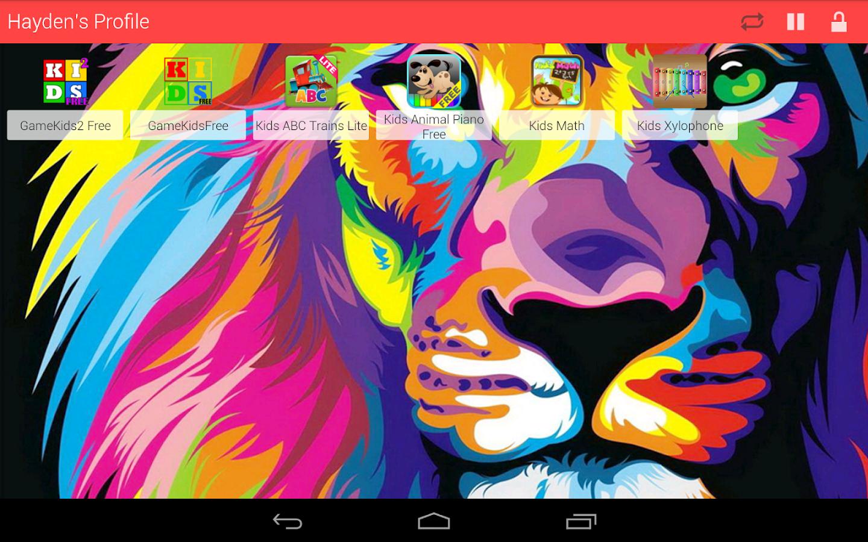 Kids Zone Child Lock Pro Ver. - screenshot