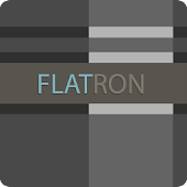 CM10.1 - Flatron Blue Theme