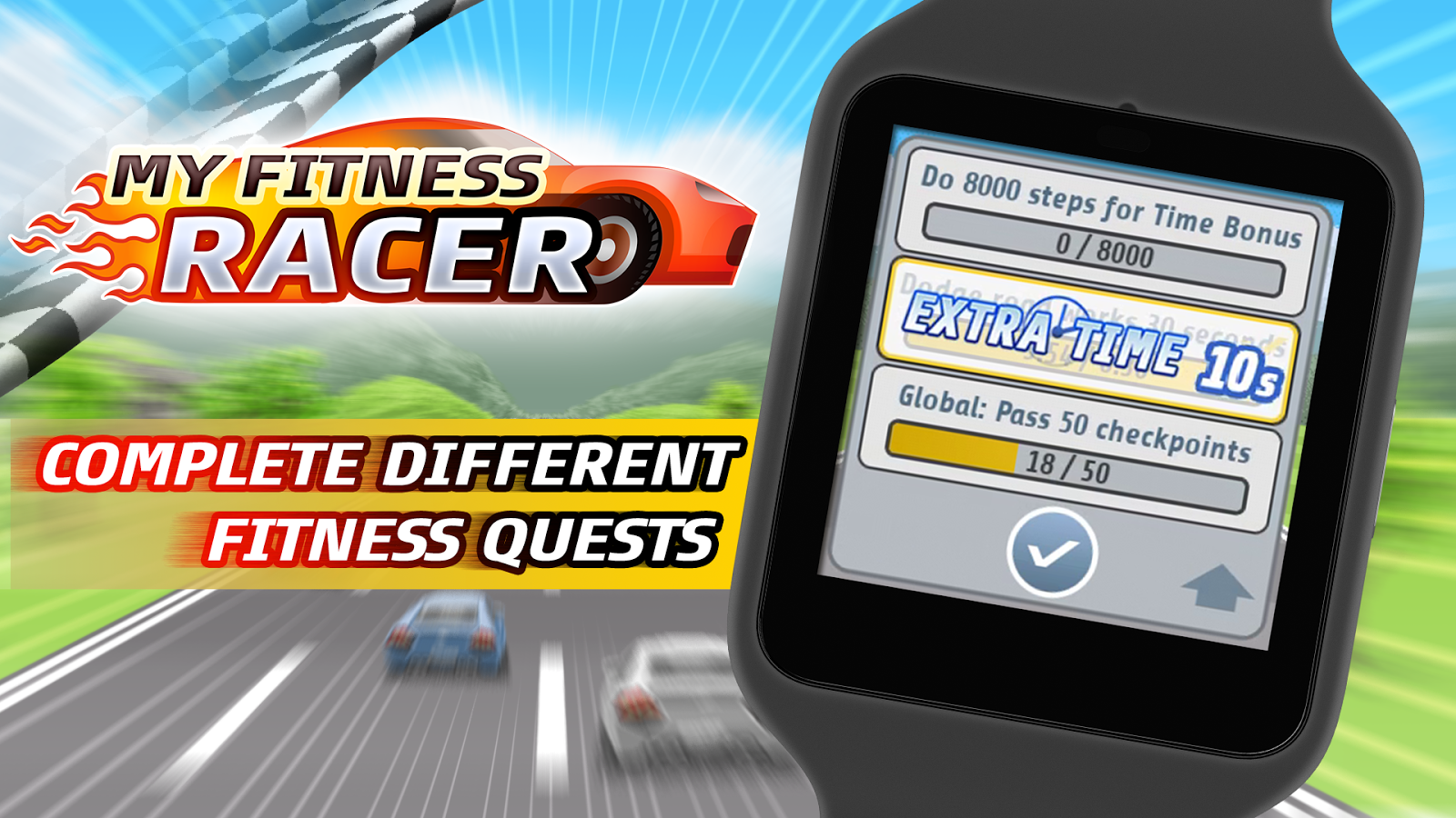 My Fitness Racer- screenshot