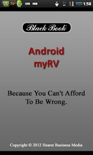 myRV - screenshot thumbnail