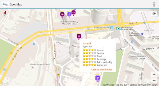 Berlin Spots Local Map Guide