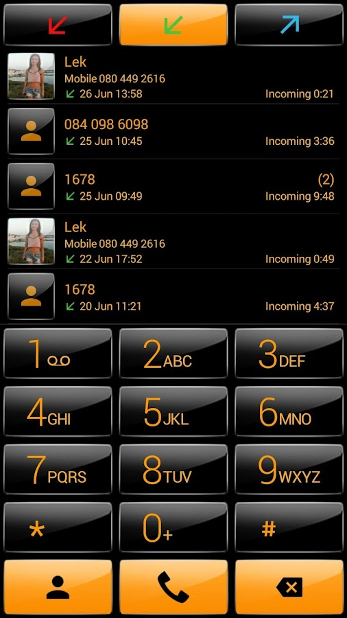 how to change dialer in android