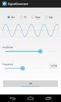 Screenshot of Signal Generator
