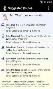 TWiz:WDW Transportation Wizard - náhled