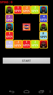 PRESS YOUR LUCK Spin - screenshot