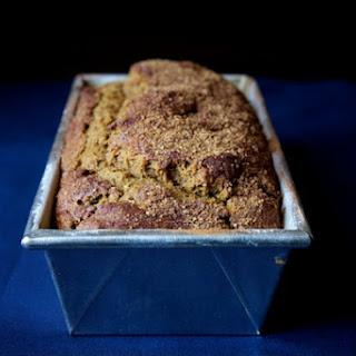 Ginger Molasses Pumpkin Bread.