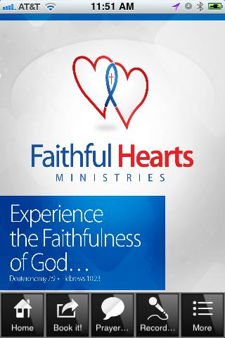 Faithful Hearts Ministries - screenshot