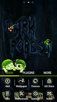 Screenshot of Dark Forest GO Launcher Theme