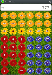Calculator Flower Gardening HD - screenshot thumbnail