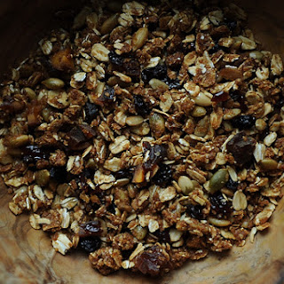 My Favorite Granola with Lots of Dried Fruit.