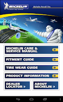 Screenshot of Michelin Aircraft Tire