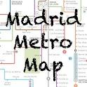 Madrid Metro Map logo
