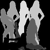 WomenSilhouette (free widget)