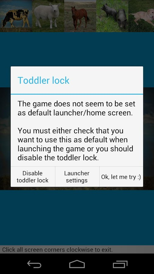 Toddler games: Animal fun - screenshot