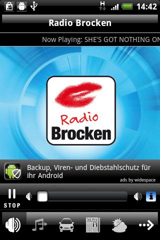 Radio Brocken - screenshot
