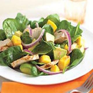 Chicken-Mango Dinner Salad.