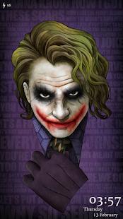 Joker Fan Art Live LockerTheme