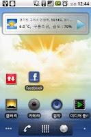 Screenshot of AnyWeather widget