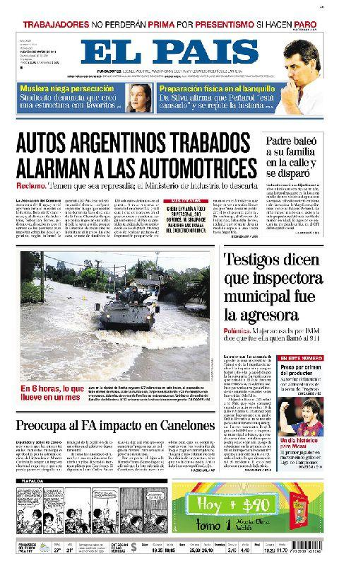 Uruguay Newspaper - screenshot
