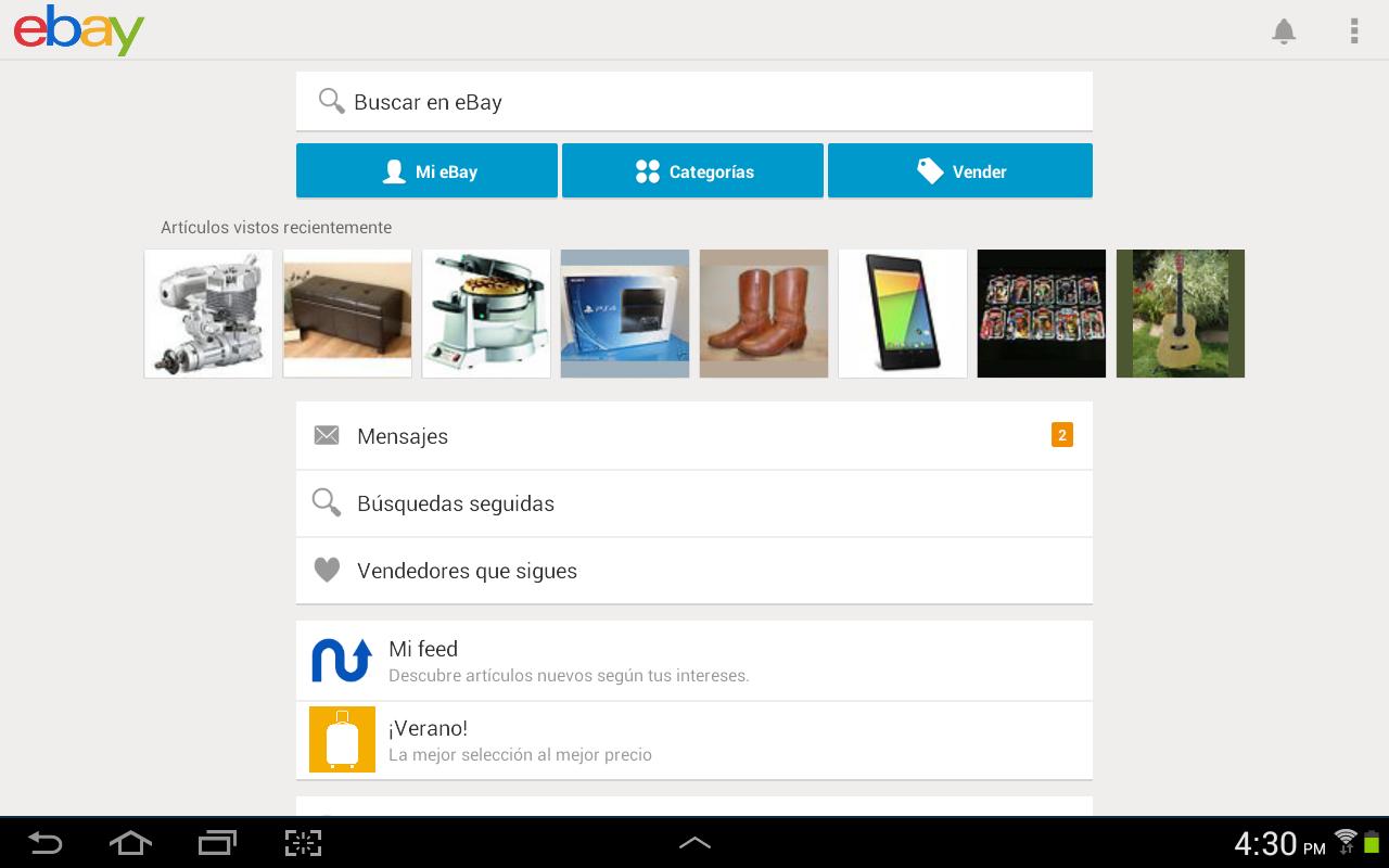 ebay aplicaciones de android en google play. Black Bedroom Furniture Sets. Home Design Ideas