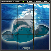 Magic Slide Puzzle B Fishes 2