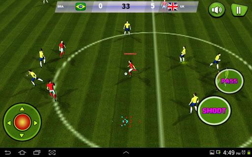 無料体育竞技AppのREALサッカーをする:SOCER 2015|記事Game