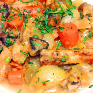 Healthy Chicken Fricassee With Tarragon