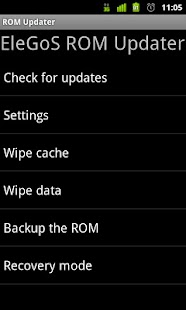 ROM Updater - screenshot thumbnail