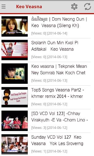 Keo Veasna Khmer Songs