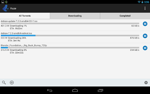 Vuze Torrent Downloader v1.7