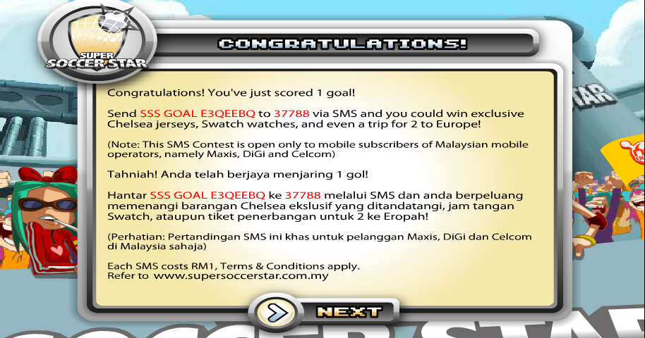 Super Soccer Star 2013 - screenshot