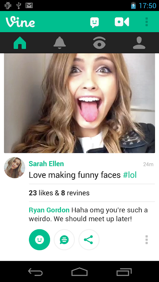 Vine - screenshot