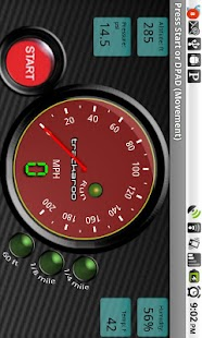 Red Speedo Dynomaster Layout - screenshot thumbnail