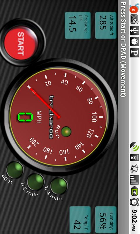 Red Speedo Dynomaster Layout- screenshot