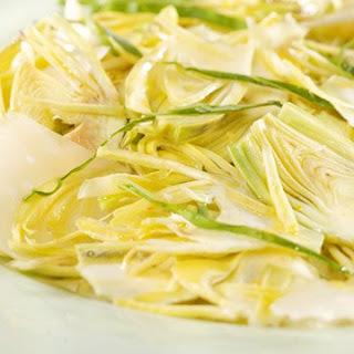 Shaved Artichoke Salad