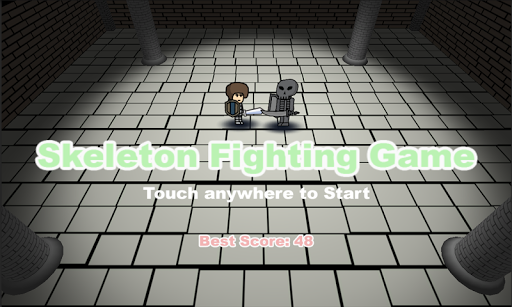 Skeleton Fighting Game